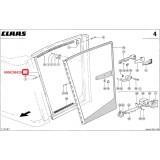 Левая, боковая стенка кабины 0006256520 для комбайнов  CLAAS JAGUAR 820-8700/LEXION 410-480/DOMINATOR 88-128/MEDION 310-340/MEGA 202-370